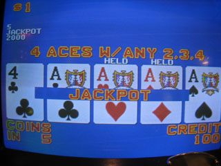 Shar's first Aces with kicker on a Dollar DDB for $2K